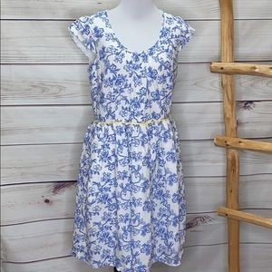 Matilda Jane Floral Bluebell Dress Size 8 NWT